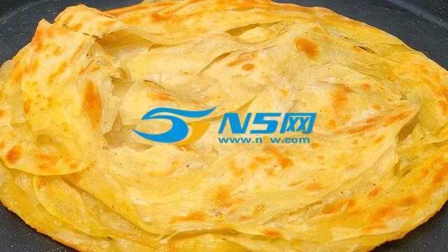 家常烙饼最简朴的做法,保证柔软多层又好吃,做法详细解说